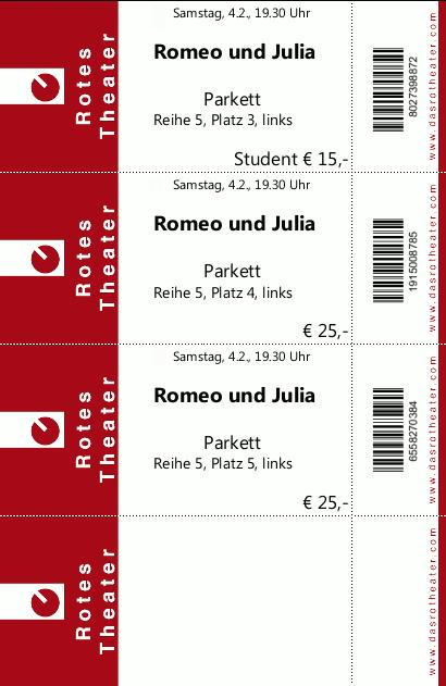 Ziemlich Vorlagen Für Tickets Ideen - Beispielzusammenfassung Ideen ...